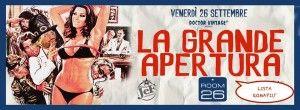 Discoteca Room 26 Roma: apertura venerdì 26 settembre 2014 serata Vintage con aperitivo.