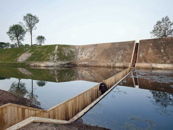 Trench Access Route in Brabant, RO&AD Architecten