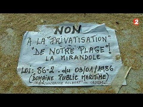 Privatisation d'une plage française par la famille royale saoudienne