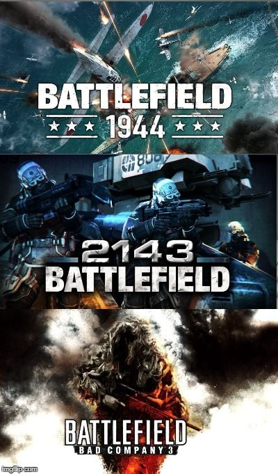 Hey! EA. I got some suggestions for the next Battlefield game. http://ift.tt/2npxfiS