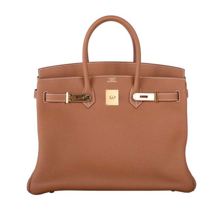 Forever Staple Hermes Birkin Bag 35Cm Gold With Gold Hardware Togo Yum! 1
