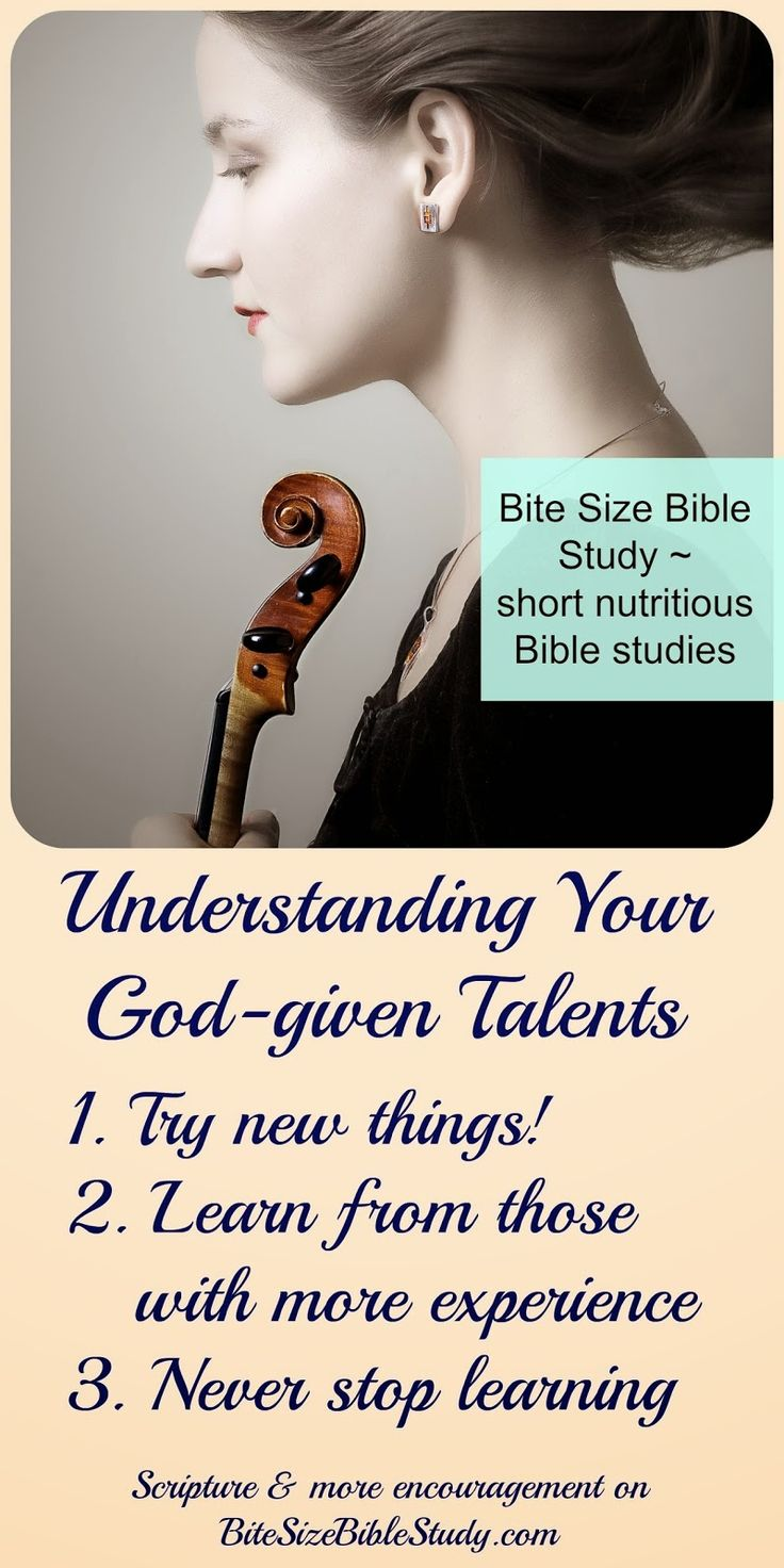 3.2. The Stewardship of Talents | Bible.org