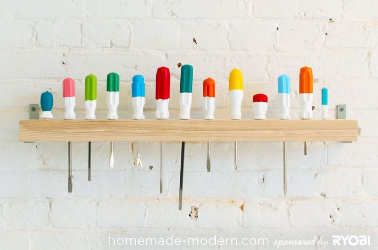 smart way to store them. also like re-coloring the handles. not those colors tho