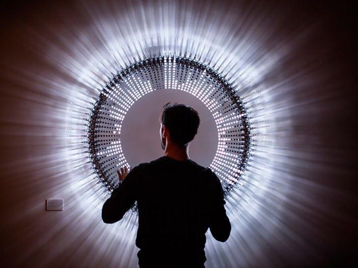 Brilliant DiscoDisco LED sculpture comes alive to the sound of...