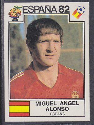 Panini - Espana 82 World Cup - # 301 Miguel Alonso - Espana