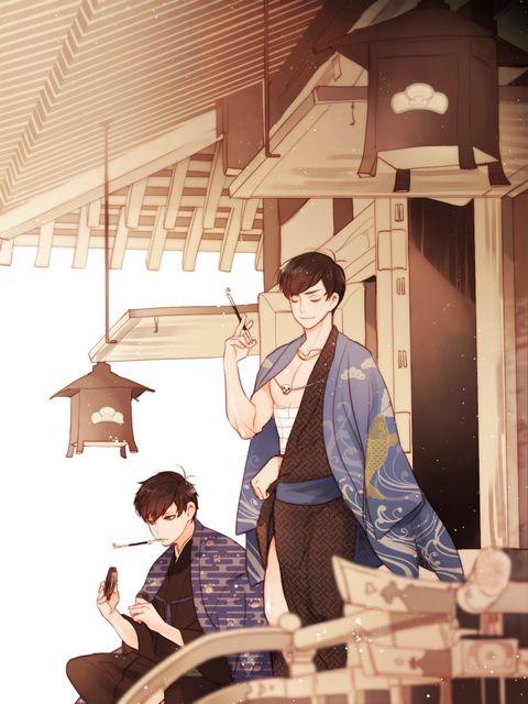 Osomatsu-san- Ichimatsu & Karamatsu #Anime「♡」