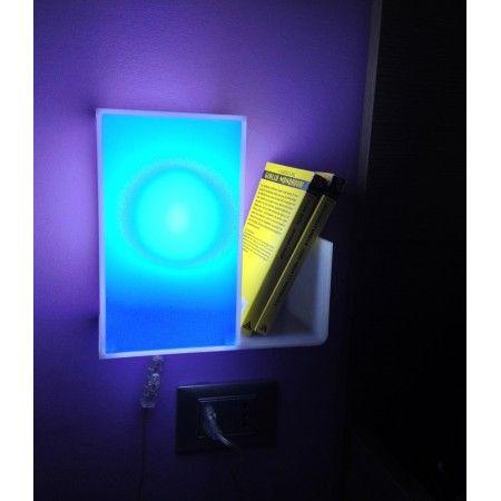 9 best comodino in plexiglass luminoso images on pinterest for Arredamento roma est