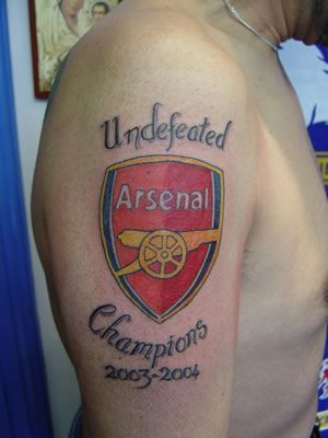 Photos of Arsenal Tattoos - Arsenal Tattoos - Arsenal FC - page 2