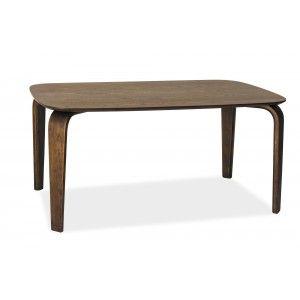 Masa din MDF, lemn masiv si furnir Mezzo nuc