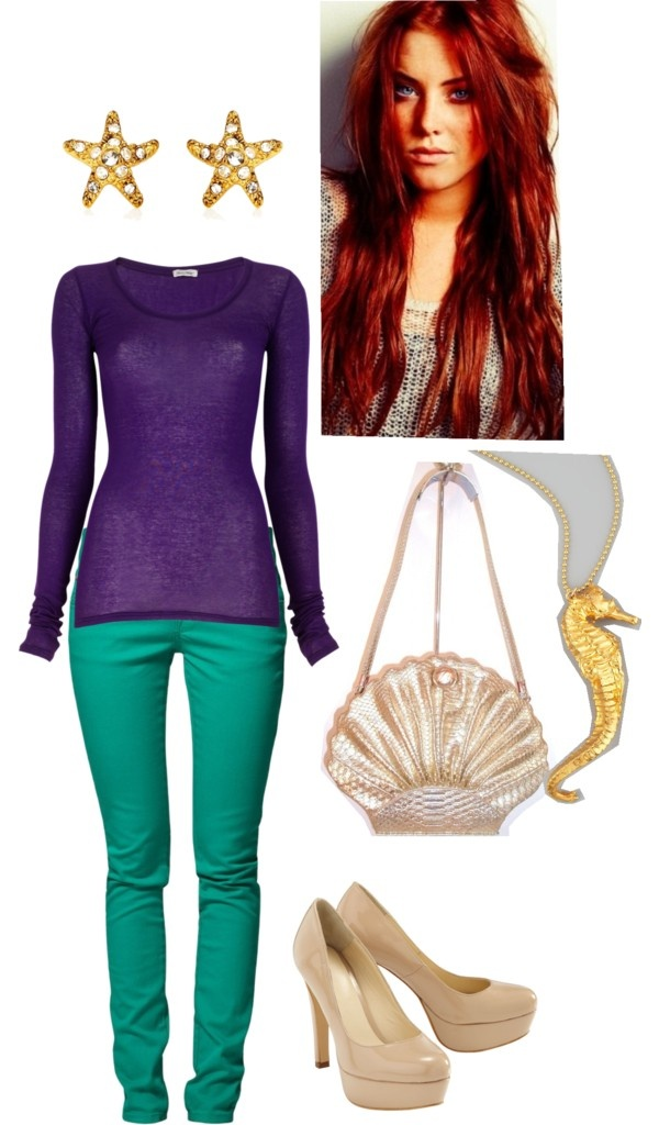 """the little mermaid"" by straight-arow on Polyvore"