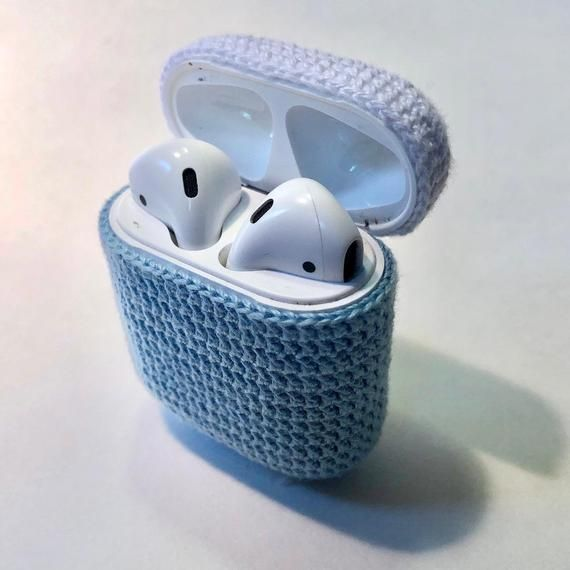 Microrocheted Airpod Case Personalized Customizable Airpods Etsy Etsy Gift Guide Case Airpod Case