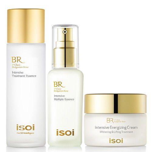 ISOI Bulgarian Rose Intensive Anti aging Skincare Set - Korean Cosmetics #ISOI