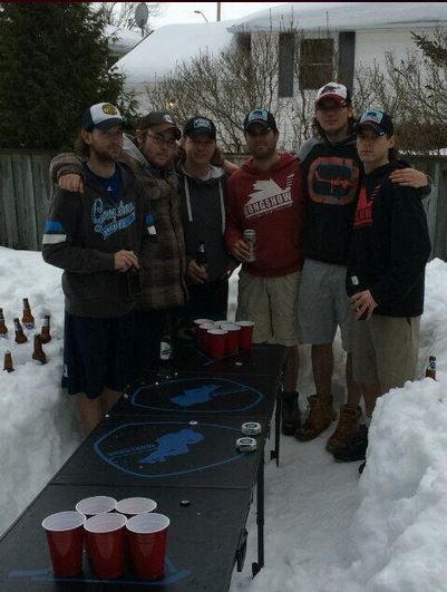 Pic of all the boys rocking the best gear out there #gongers  #GONGSHOW