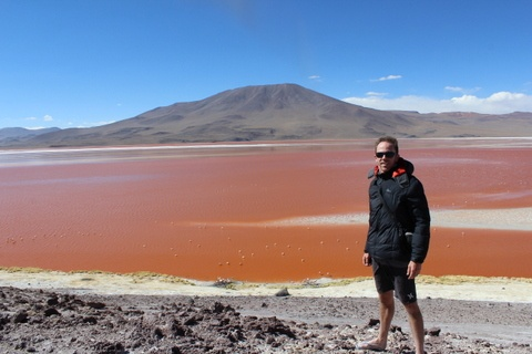 Now that is what I call a red lake