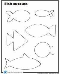 Fish tamplate