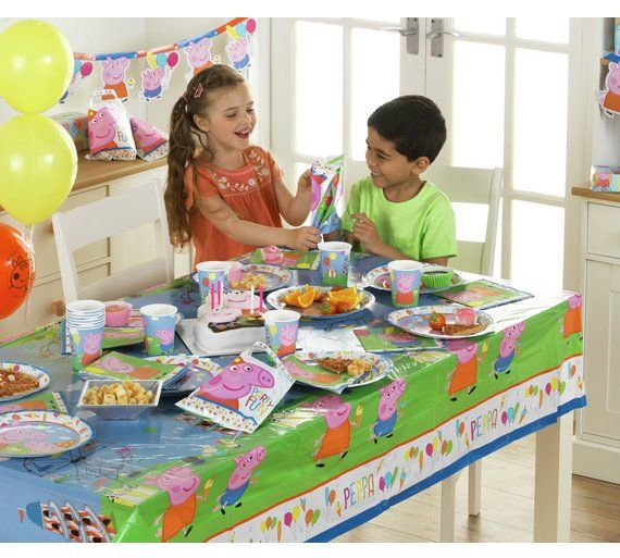 Buy Peppa Pig Party Pack for 16 Guests at Argos.co.uk - Your Online Shop for Party supplies, Special occasions and parties, Gifts.