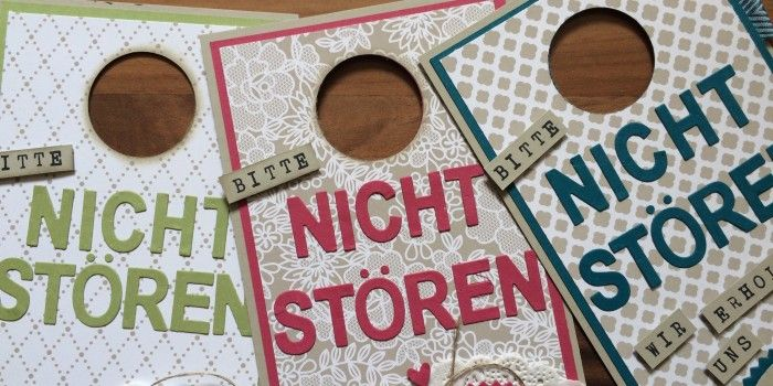 Türanhänger / doorhanger / Hochzeit / Gastgeschenk / give away / Stampin' Up! / DSP Trau Dich / Beeindruckende Buchstaben / Framelits Feuerwerk / Drehstempel Alphabet / Perfekter Tag / Kreative-Set-Accessoires www.janinaspaperpotpourri.de