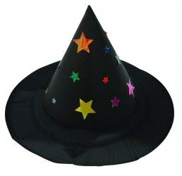 Make you own dress up witches hat