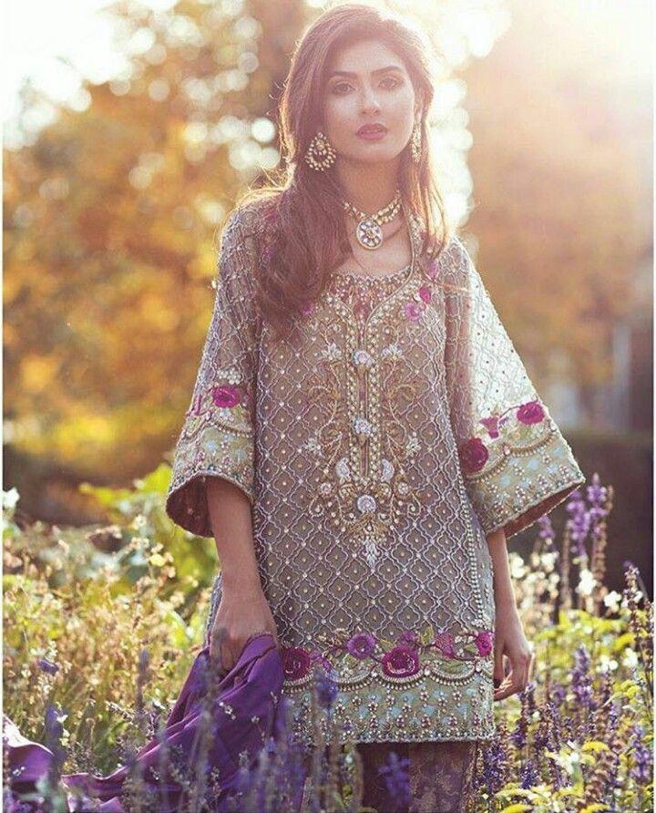 Pakistani ensemble by Farah Talib Aziz.