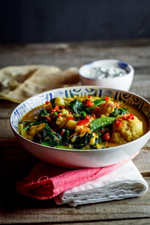 Coconut Vegetable curry. #Vegetarian #Vegan #Food