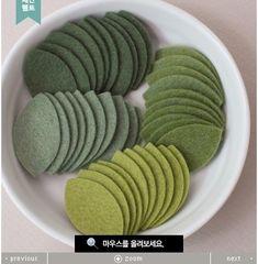 Южная Корея импортировала шерстяной войлок листьев четыре цвета головной убор аксессуары для волос материала DIY аксессуары с розами