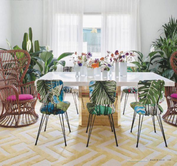 Tropical Dining Set   Modern Tropical Style on Remodelaholic com. Best 25  Tropical dining sets ideas on Pinterest   Tropical