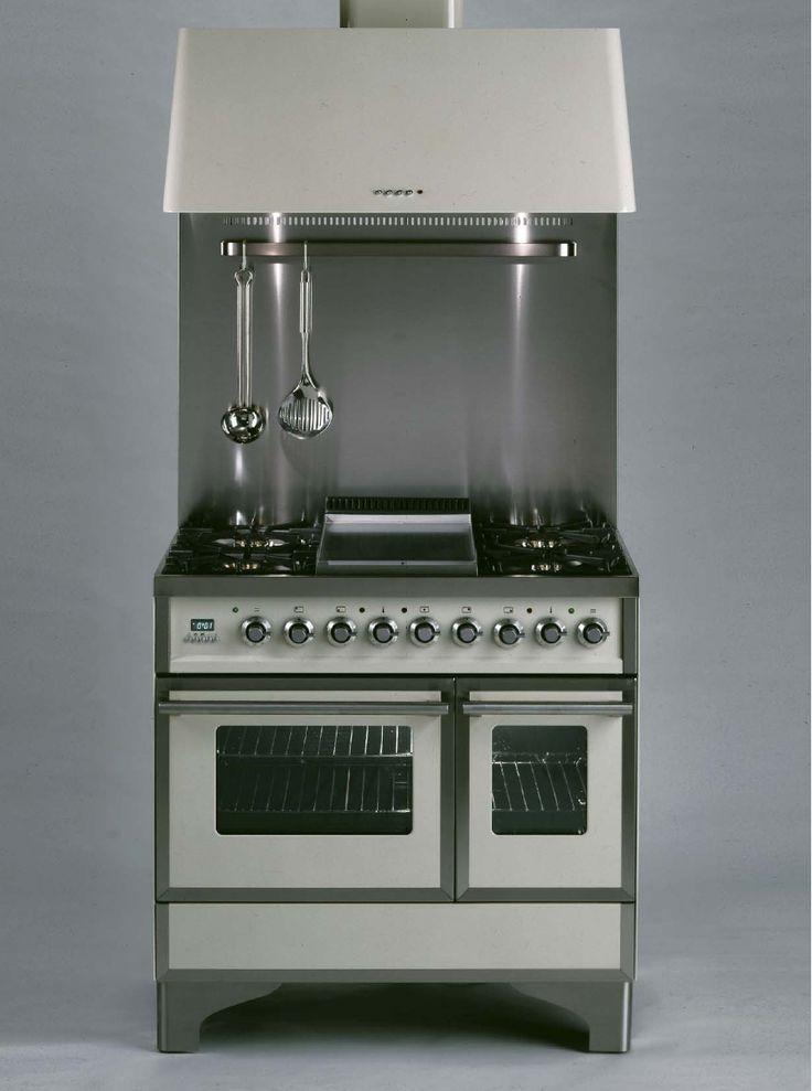 ILVE QDC 90 MP Quadra Classic Gas Elektro Standherd | Gasherd.de