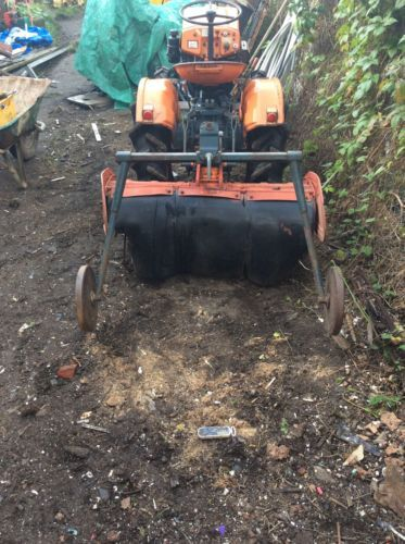 #Kubota compact #tractor #rotavator,  View more on the LINK: http://www.zeppy.io/product/gb/2/201718437741/