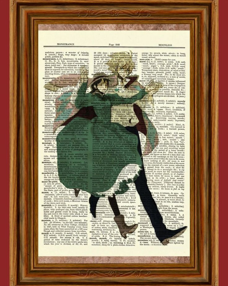 Howl's Moving Castle Dictionary Art Print Poster Picture Anime Howls Movie Howl