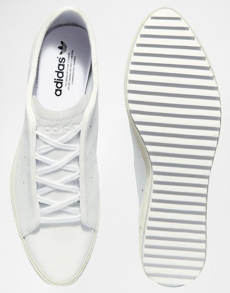 adidas blancas plataforma