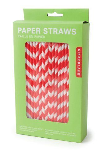 Kikkerland Biodegradable Paper Straws, Red and White Striped, Box of 144 by Kikkerland, http://www.amazon.com/dp/B004K8N0Z0/ref=cm_sw_r_pi_dp_cwWkqb1JACMXN