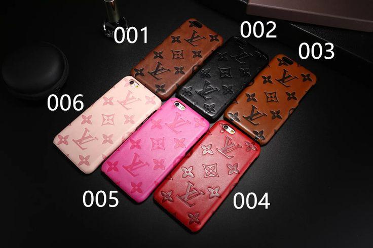 ヴィトンIPHONE7ケース6sカバーモノグラム柄 シンプルビジネス風 iPhone7 Plus/6s plusハードケース 男女カップル向けペアケース
