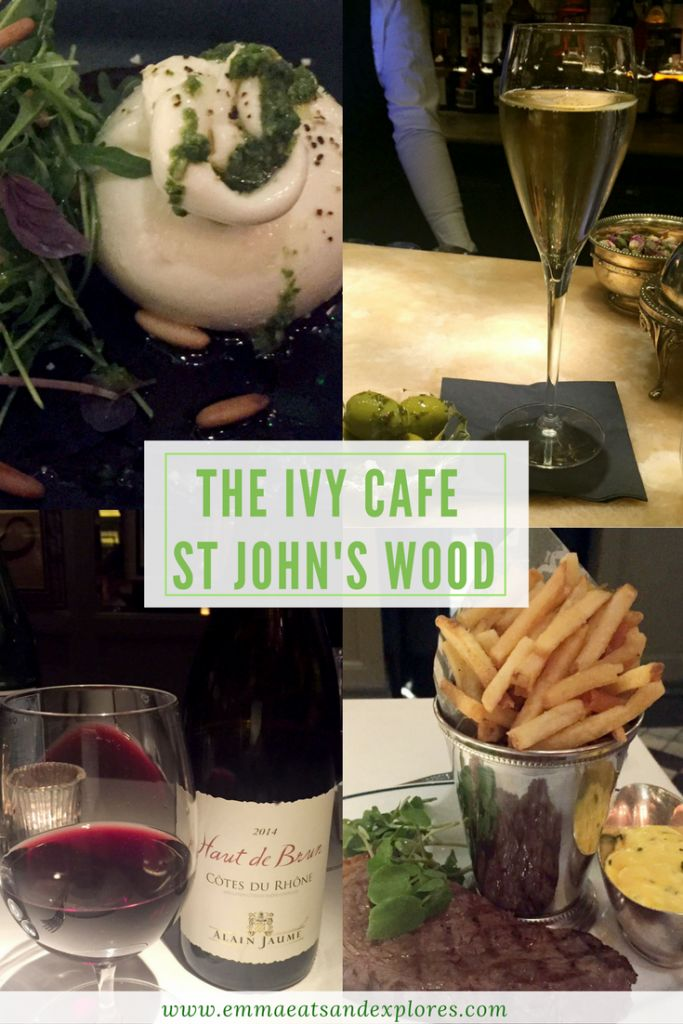 The Ivy Cafe - St John's Wood, London by Emma Eats & Explores