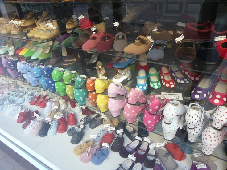 Flamenco shoes Sevilla