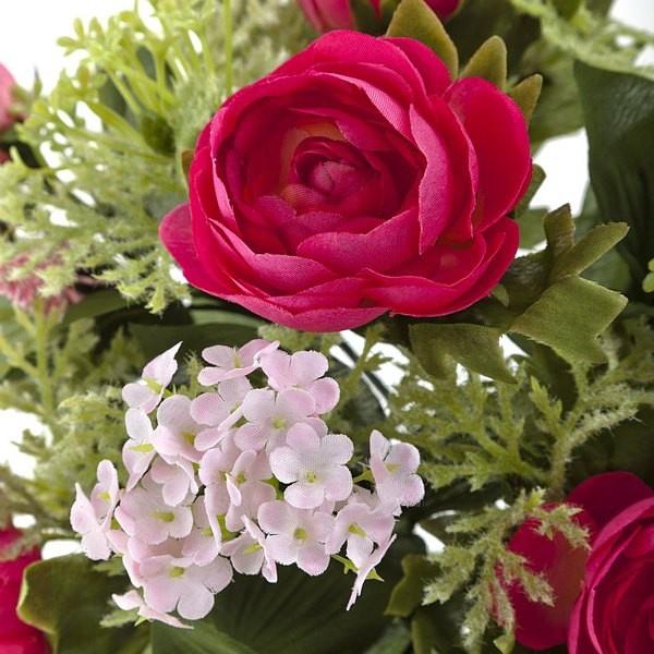 Flores artificiales ranunculos http://www.lallimona.com/online/flores-y-plantas-artificiales/