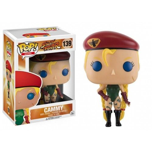 Funko Cammy, Street Fighter, SF, Games, Funkomania