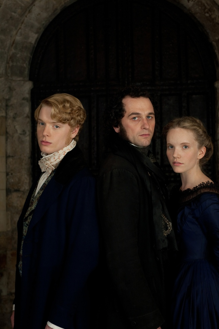 Freddie Fox, Matthew Rhys, and Tamzin Merchant in The Mystery of Edwin Drood (2012) ... a really wonderful BBC production