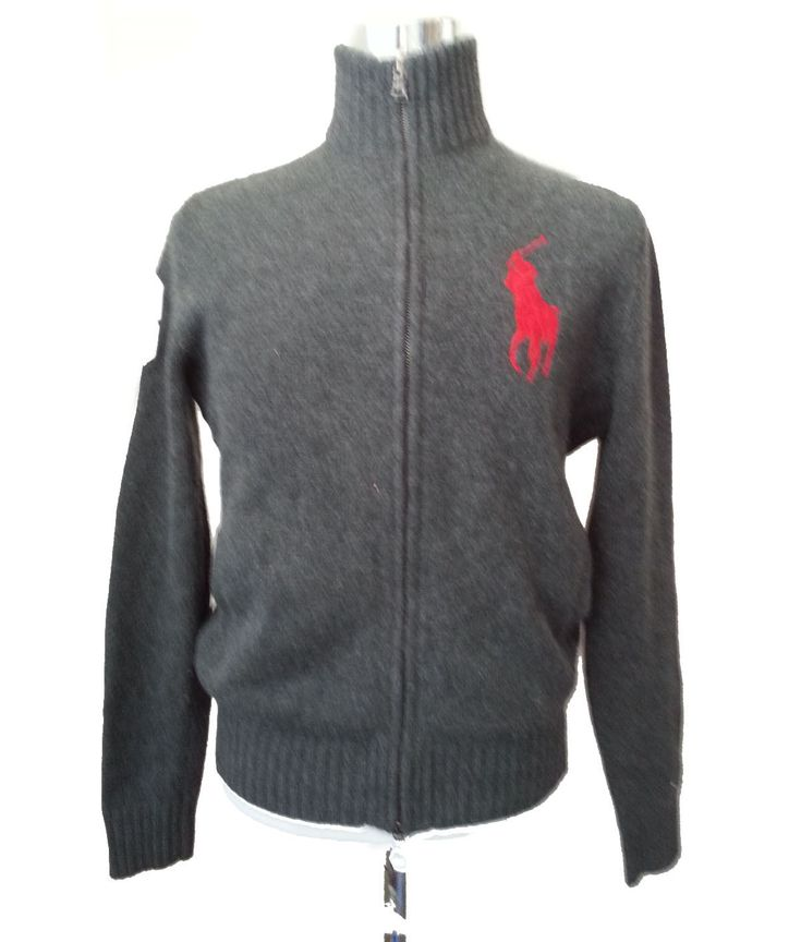 #ebay POLO Ralph Lauren Men Size S wool Full Zip Large Logo sweater jacket RalphLauren withing our EBAY store at  http://stores.ebay.com/esquirestore