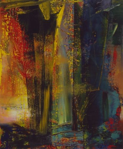 Gerhard Richter » Art » Paintings » Abstracts » Abstract Painting » 599