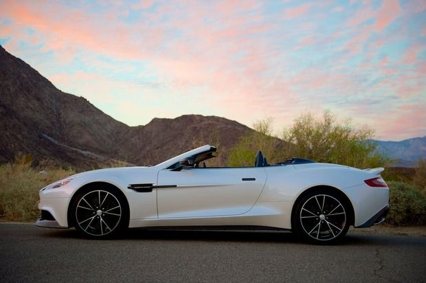 2014 Aston Martin Vanquish Volante - British elegance, raw power and modern styling in the brand's first full carbon convertible