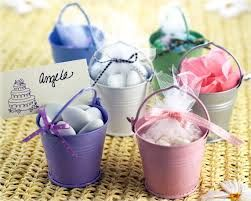 These cute wedding favours in little metal buckets would fit the vintage yet comtemporary theme perfectly - zestweddings.com #TKMaxxBridalEvent
