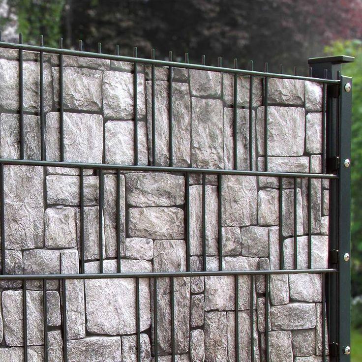 Die besten 25+ Pvc sichtschutz Ideen auf Pinterest Pvc wand - garten sichtschutz stein