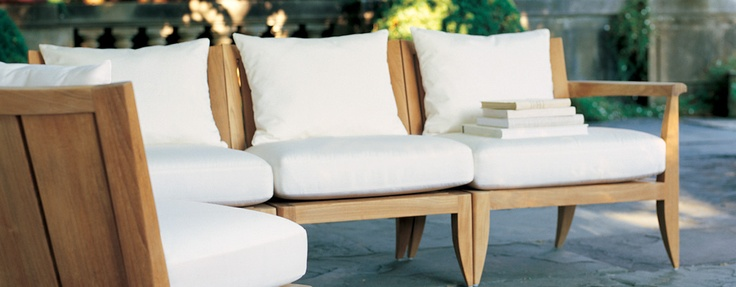 The Loggia Collection from Summit Furniture.