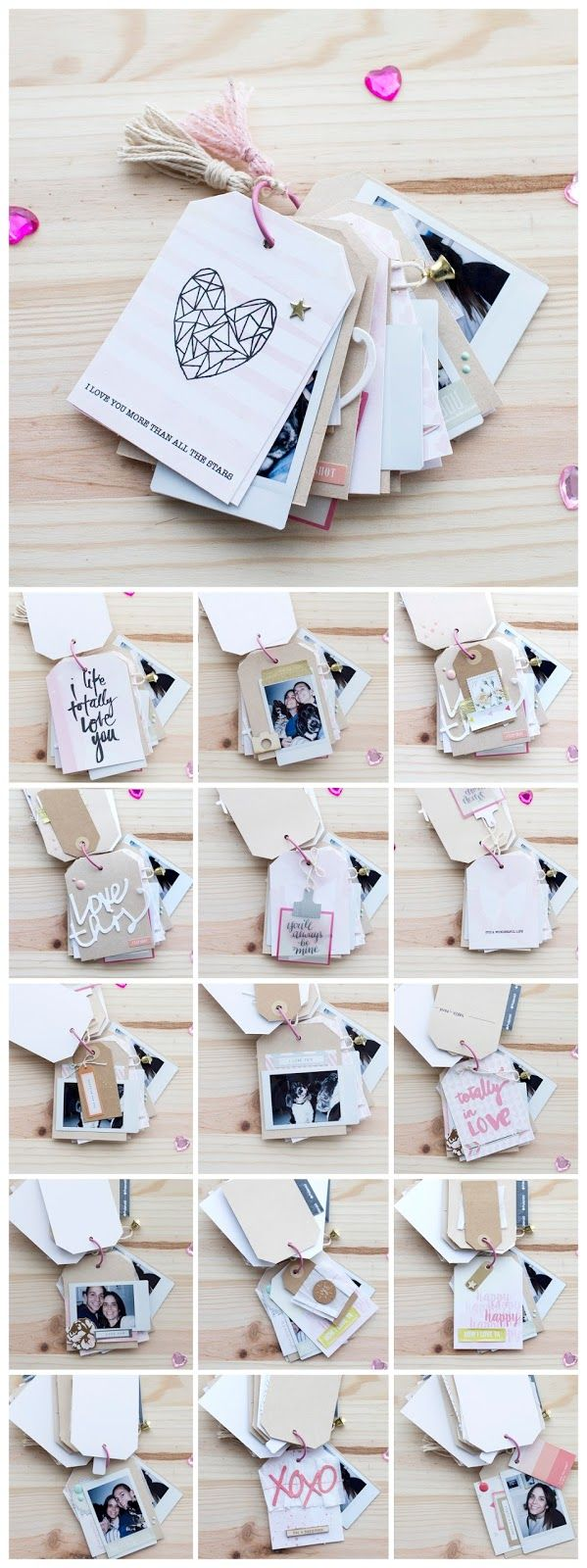 mini album tags Ann's Miles Freebies