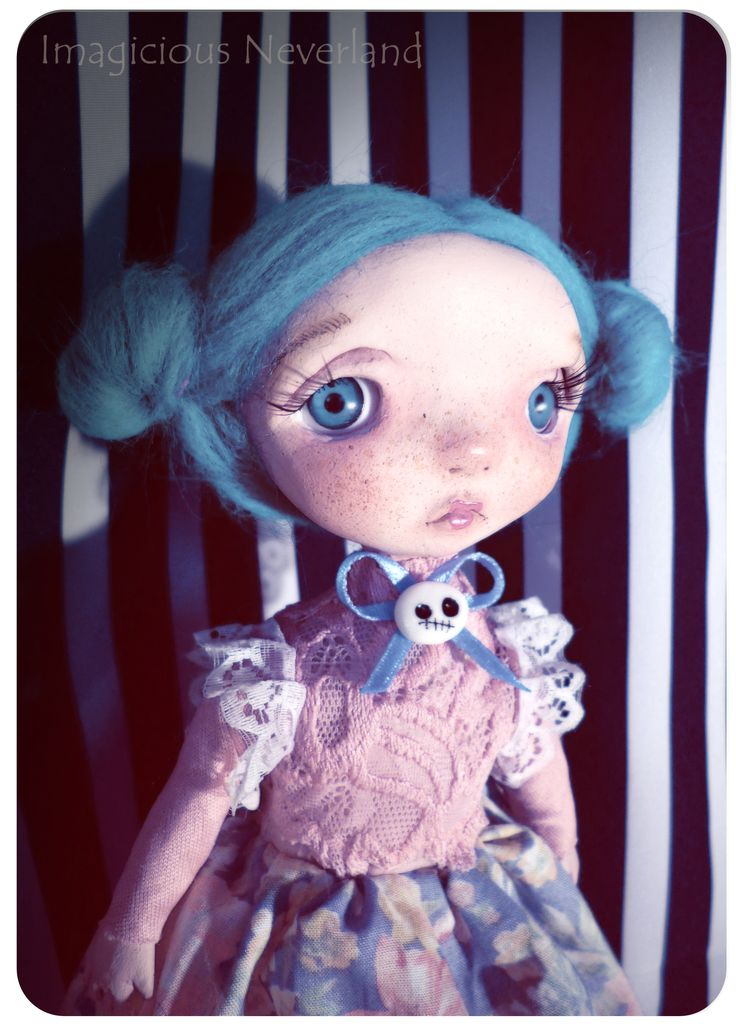 #handmade #ooak #poseable #doll