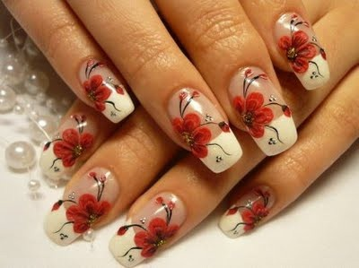 Cherry Blossom Manicure