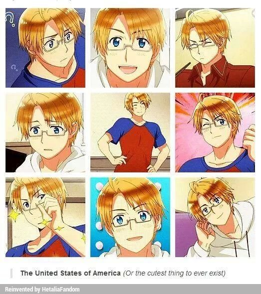 ((May I present you to Alfred Fuckingadorable [I think that's what the F. stands for] Jones, the best thing that ever happened in Hetalia.))<<It sounds for fuck.....