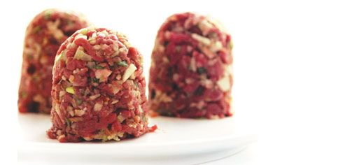 Your dog will go crazy for these little meatballs made from yesterday's roast. Cats love them too.
