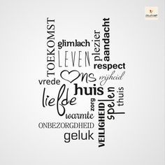 8 best muurspreuken images on Pinterest | Dutch quotes, Words quotes ...
