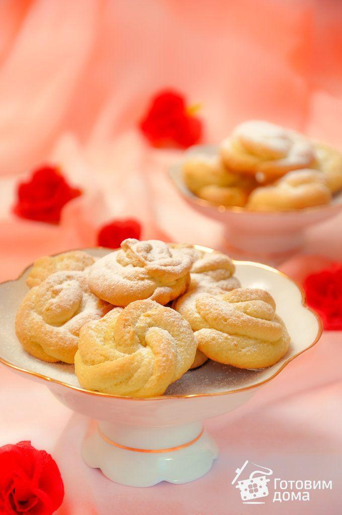 Домашнее печенье (из мясорубки)